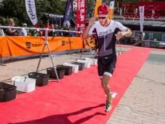 El campeón de España de Duatlón, Luis Miguel del Rosal, gana el Triatlón de Sierra Nevada