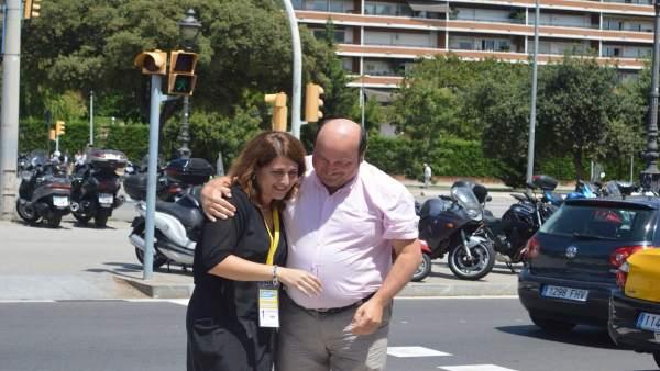 Ortuzar y Marta Pascal