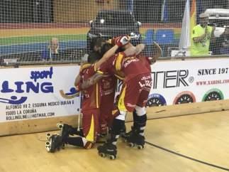 España vuelve a ser campeona de Europa de hockey patines