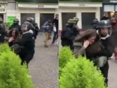 Imputan al guardaespaldas de Macron por cargos de violencia contra manifestantes