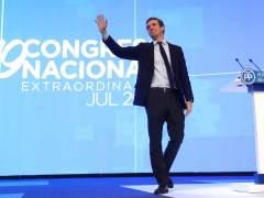 """Pablo Casado: """"Quiero volver a conectar el PP con la sociedad"""""""