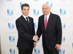 Javier Arroyo y Colin Powell
