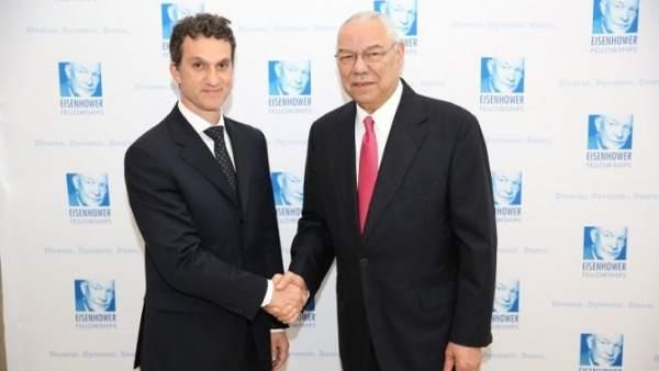 Javier Arroyo y Colin Powell