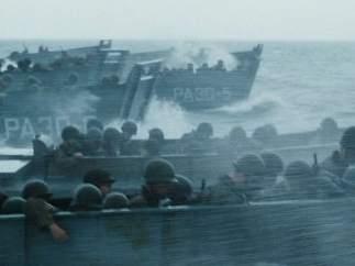 Utilizaron dos lanchas de la Segunda Guerra Mundial