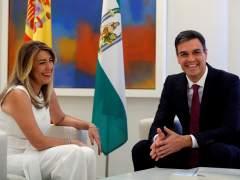 Sánchez recibe a Susana Díaz con la financiación autonómica como prioridad