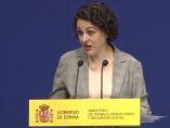 La ministra de Trabajo,Magdalena Valerio.