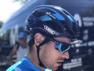 El ciclista español Mikel Landa (Movistar Team)