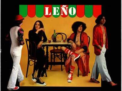 Carátula del primer álbum homónimo del grupo Leño.