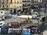 Obras ampliación de las estaciones de Sol y Gran Vía.