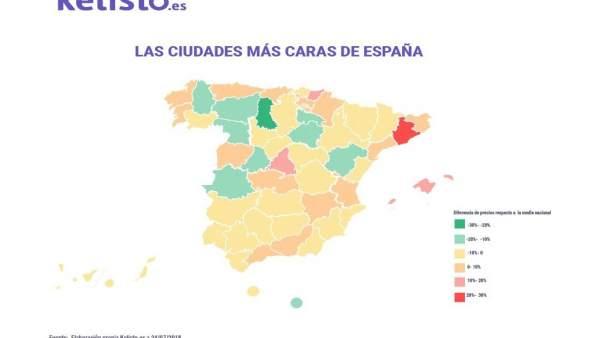 Palencia La Ciudad Más Barata De España Para Vivir Según Un Estudio
