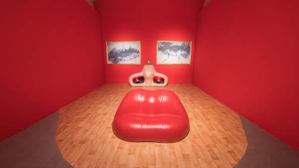 'Sala Mae West' ideada por Salvador Dalí