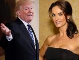 Karen McDougal y Donald Trump