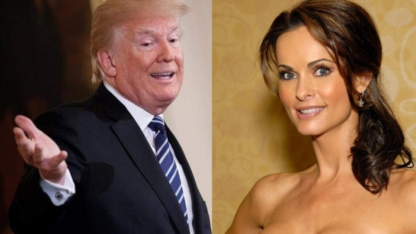 Karen McDougal y Donald Trump