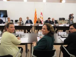 Reunión De La Comisión Bilateral Generalitat-Ayuntamiento De Barcelona.
