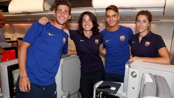 Equipo masculino y femenino Barcelona