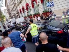 Un detenido por el ataque a un vehículo VTC que llevaba a una familia en Barcelona