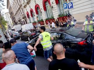 Huelga taxis Barcelona