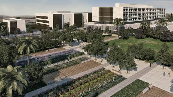 Zones verdes i 5 edificis per a la Fe deCampanar