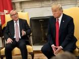 Juncker defiende ante Trump que la UE y EEUU son aliados y no enemigos