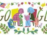 Día de los abuelos, en un doodle