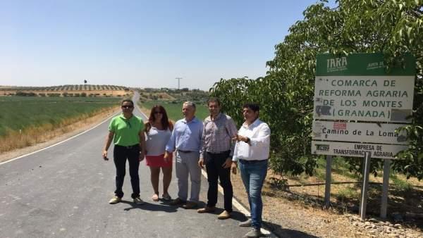 Diputación destina más de 300.000 euros a la mejora de caminos en Íllora