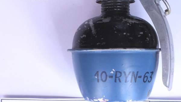 Imagen de uno de los artefactos