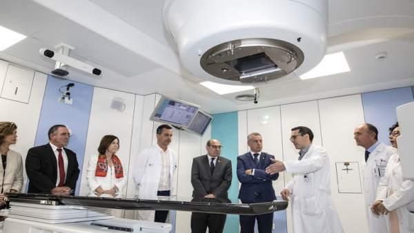 El lehendakari en el Hospital Donostia