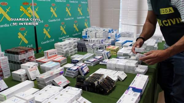 Guardia Civil desarticula un punto de distribución de anabolizantes