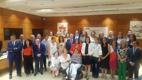 Broto ha asistido hoy al encuentro con la ministra y las Comunidades en Madrid