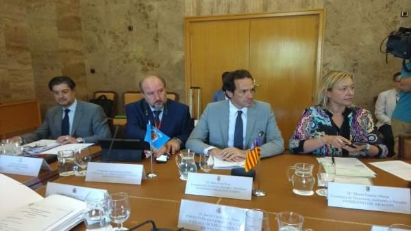 Marc Pons en la Conferencia Sectorial de Medio Ambiente