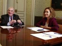Meritxell Batet y Ernest Maragall encabezarán las delegaciones en la comisión bilateral Gobierno-Cataluña.