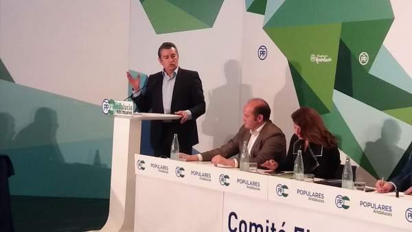 Antonio Sanz con Orti, candidato a la Alcaldía de Cádiz
