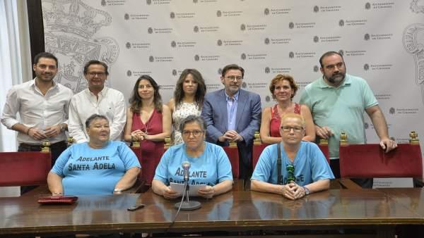 Presentación de la declaración institucional de Santa Adela