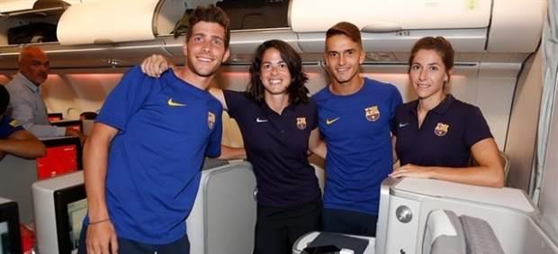 Vuelo del Barça