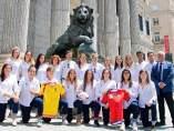 La selección de Seven, antes de disputar el Mundial