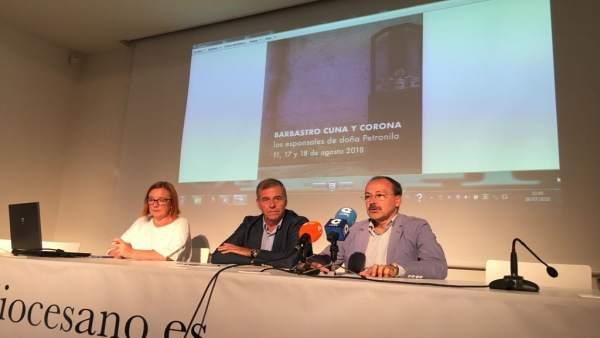 Presentación de la V edición de 'Cuna y Corona'