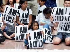 Niños inmigrantes en EE UU