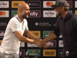 Guardiola y Klopp