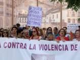 Vecinos de Maracena se concentran para apoyar a Juana Rivas tras su condena