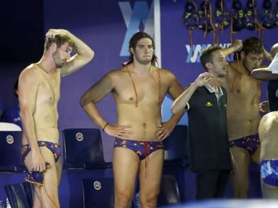 España cae en la final masculina del Europeo de waterpolo