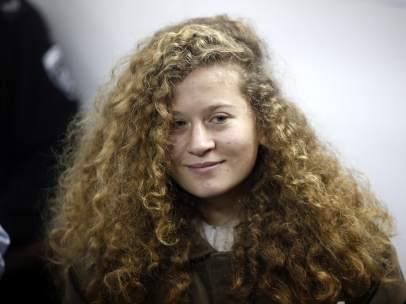 La adolescente palestina, Ahed Tamimi