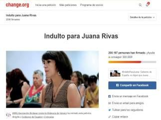 La petición para que concedan el indulto a Juana Rivas
