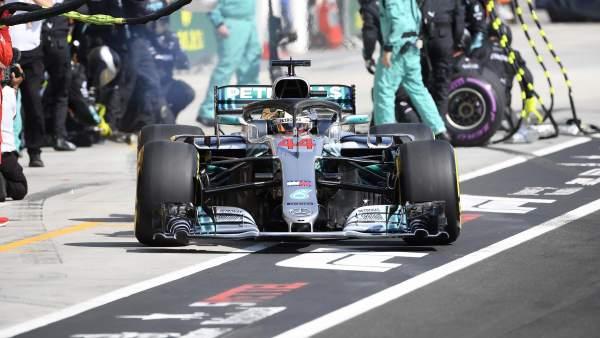Hamilton en el GP de Hungría