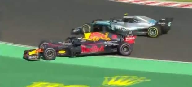 Bottas y Ricciardo