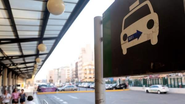 Huelga de taxis en Valencia