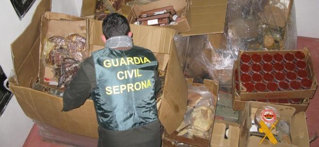 Inspección de la Guardia Civil en Salamanca