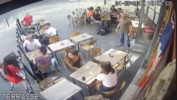 Detenido un sospechoso del tortazo en París a una mujer acosada que se grabó en un video y se hizo viral