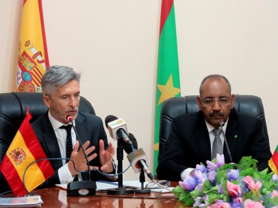 Marlaska visita Mauritania