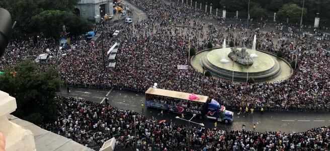 Cientos de miles de asistentes en el día del Orgullo Gay