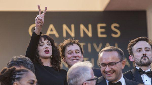 Asia Argento, reivindicativa en el Festival de Cannes 2018.